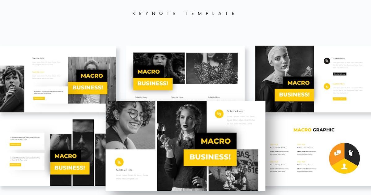 Download Macro - Keynote Template by aqrstudio