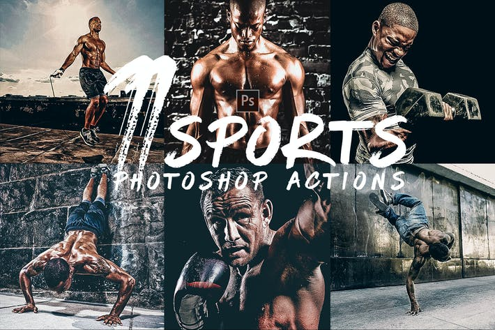Thumbnail for HDR Sports Photoshop Actions
