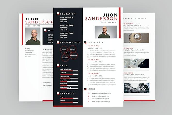 Thumbnail for Architecture Resume Designer