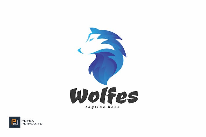 Thumbnail for Wolfes - Logo Template