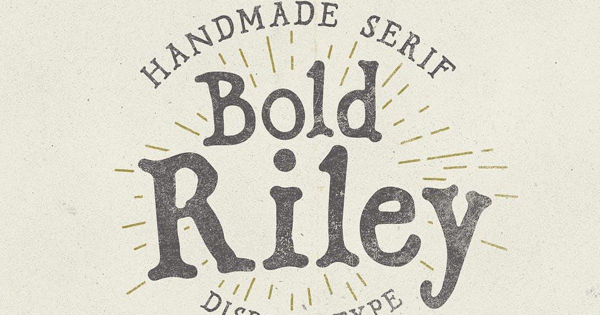 Bold Riley font by simonok