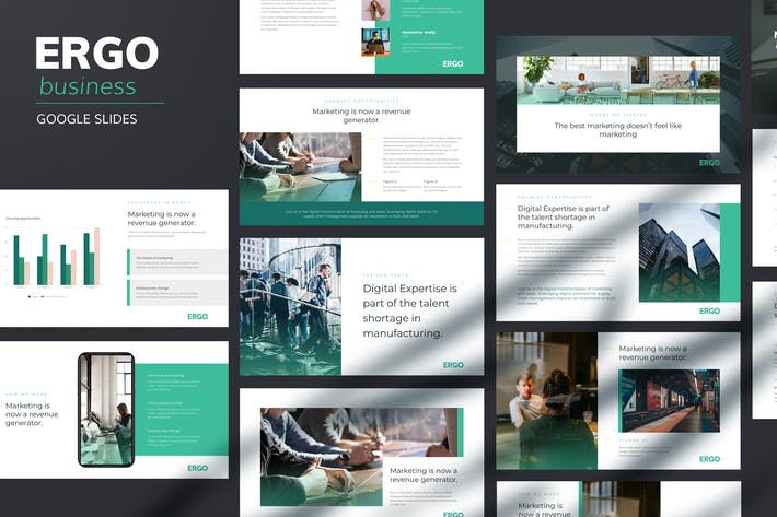 Thumbnail for Ergo - Business Pitch Google Slides Template