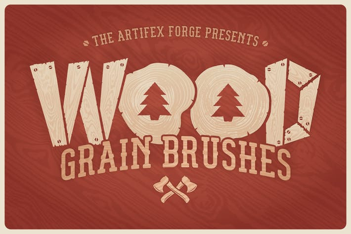 Thumbnail for Wood Grain Brushes