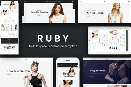 Ruby - Jewelry Store Responsivo Prestashop Tema