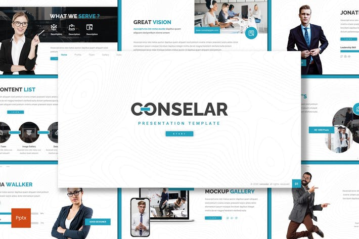 Thumbnail for Conselar - Business Powerpoint Template