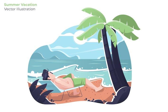Thumbnail for Summer Vacation - Vector Illustration