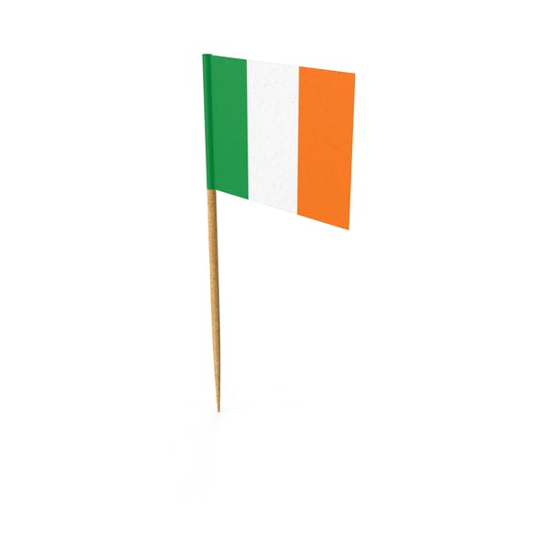 Thumbnail for Toothpick Irish Flag