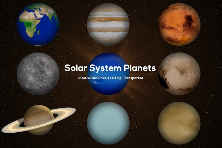 Thumbnail for Solar System Planets