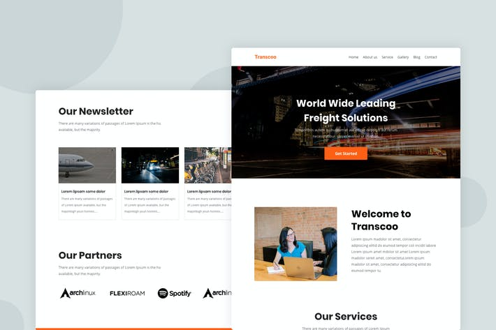 Thumbnail for Agency - Email Newsletter