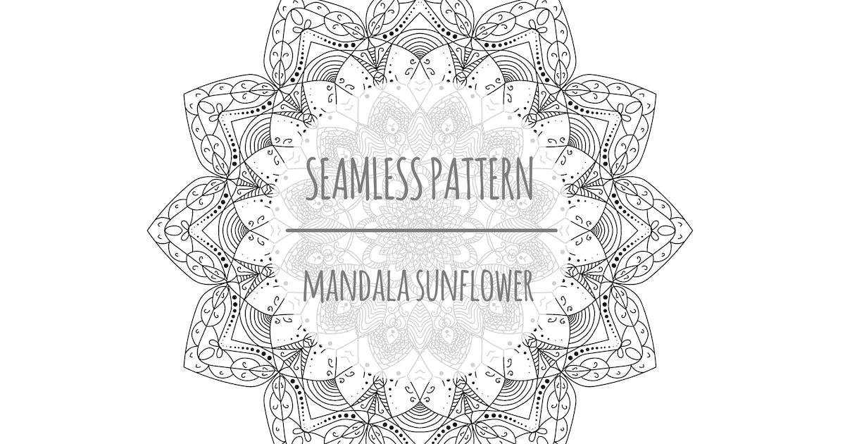 Download Mandala Sunflower – Seamless Pattern by designesto