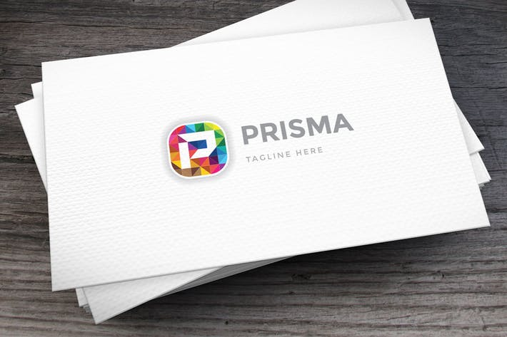 Thumbnail for Prime Prisma Logo Template