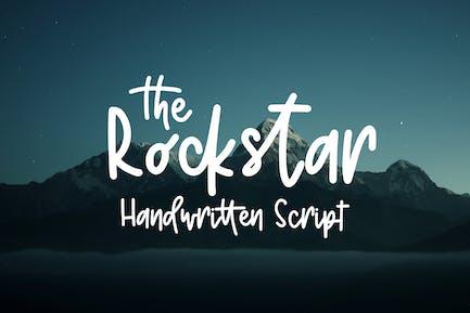 Rockstar - Guión escrito a mano