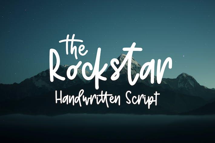 Thumbnail for Rockstar - Handwritten script