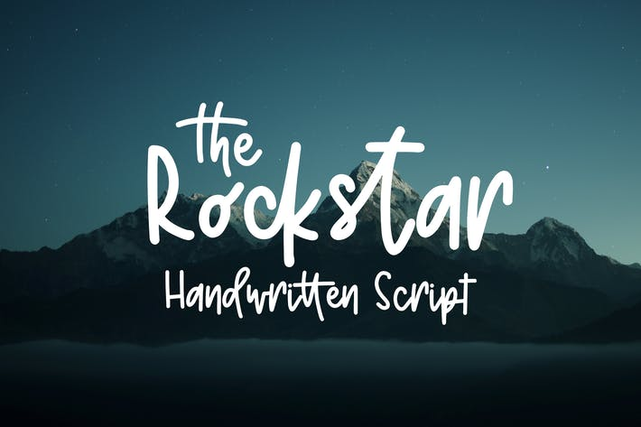 Thumbnail for Rockstar - Script manuscrit