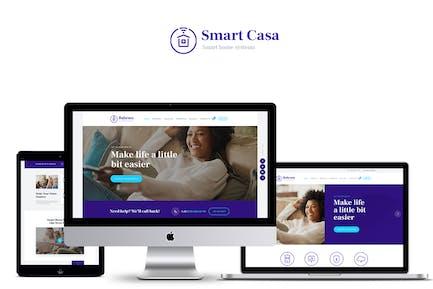 Smart Casa - Home Automation & Technologies Theme