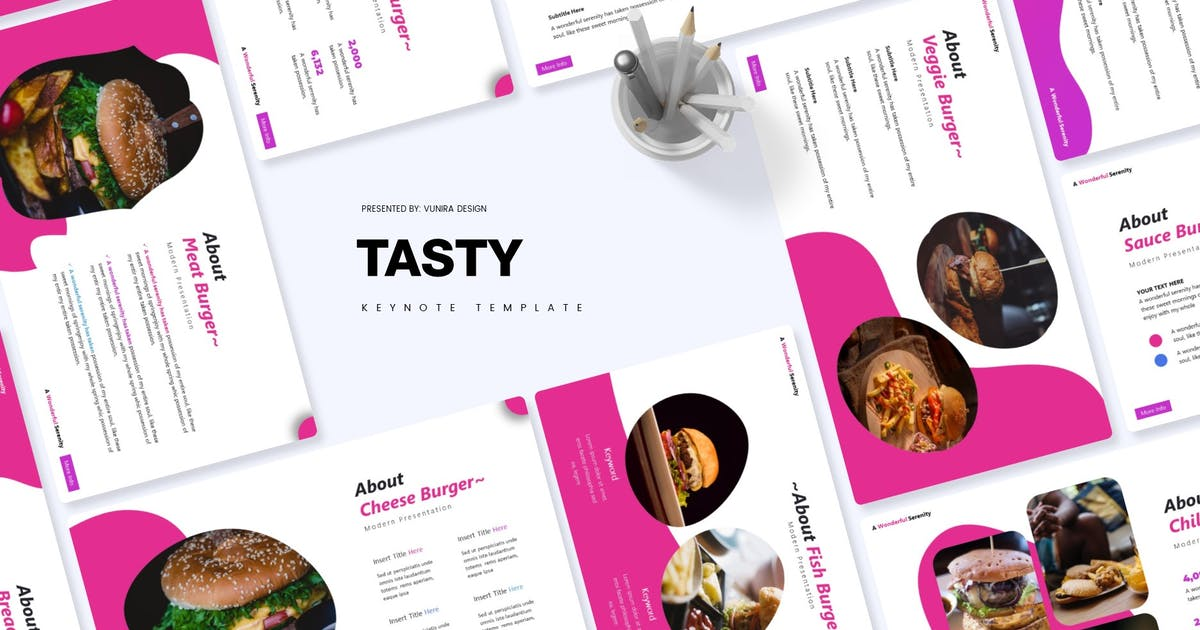 Download Tasty   Keynote Template by Vunira