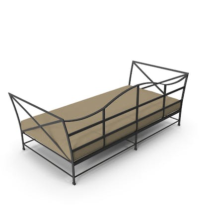 Carmel Daybed lackiertes Metall