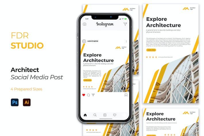 Thumbnail for Architect Social Media Post