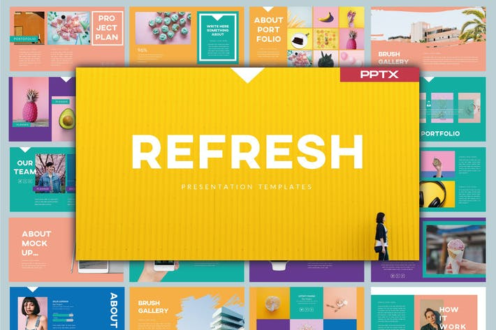Thumbnail for Refresh Powerpoint Template - LS