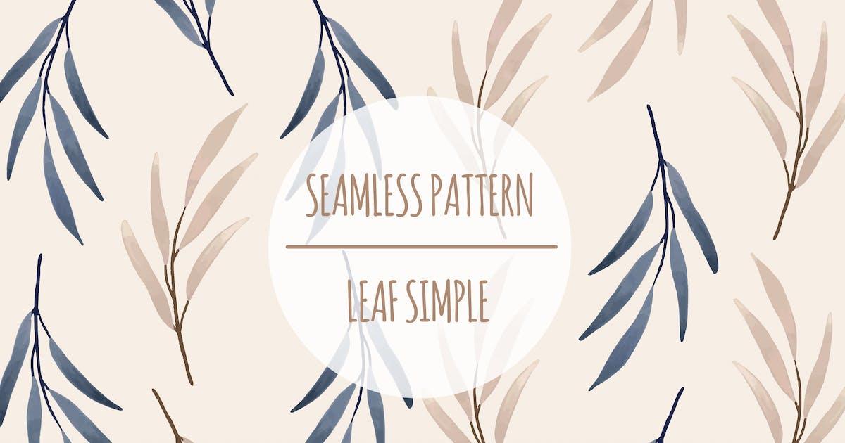 Download Leaf Simple – Seamless Pattern by designesto