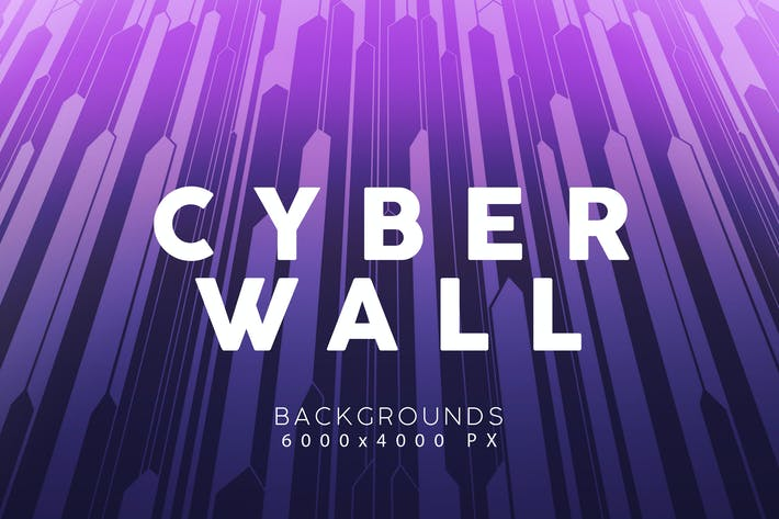 Thumbnail for Cyber Wall Backgrounds 3