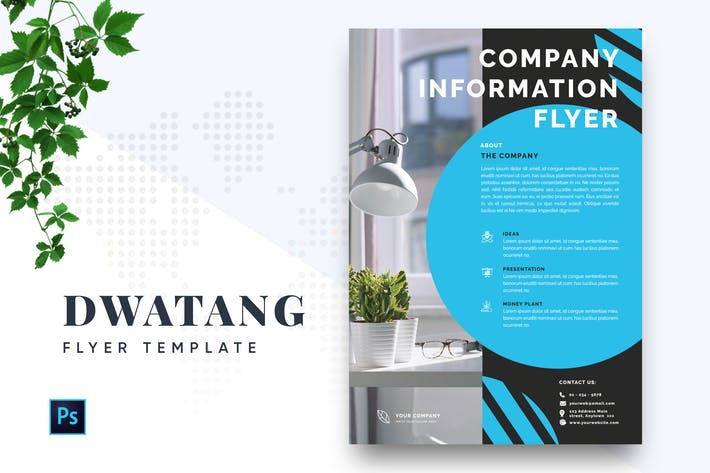 Thumbnail for Dwatang Professional Business Flyer