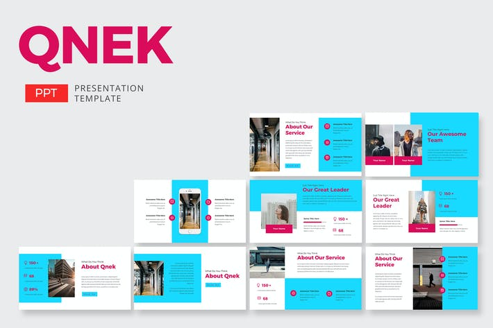 Cover Image For Qnek Business - Powerpoint