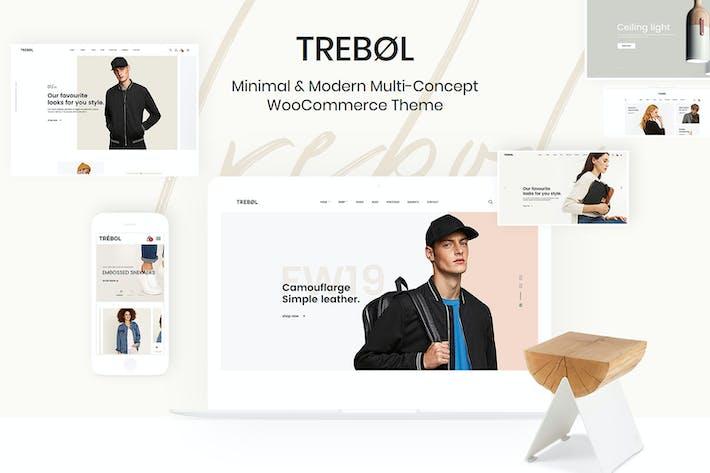 Thumbnail for Trebol - Minimal & Modern Multi-Concept WooCommer