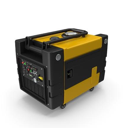 Tragbarer Generator Gelb