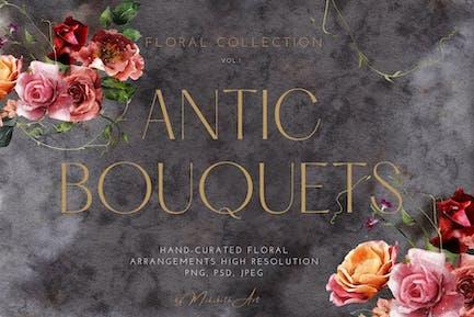 Antic Bouquet arrangements