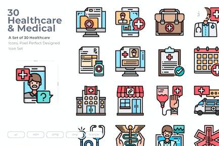 30 Healthcare Icons