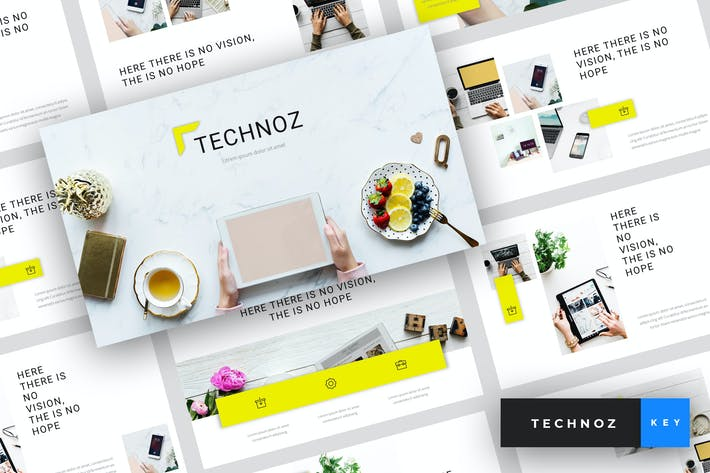 Thumbnail for Technoz - Internet Marketing Keynote Template