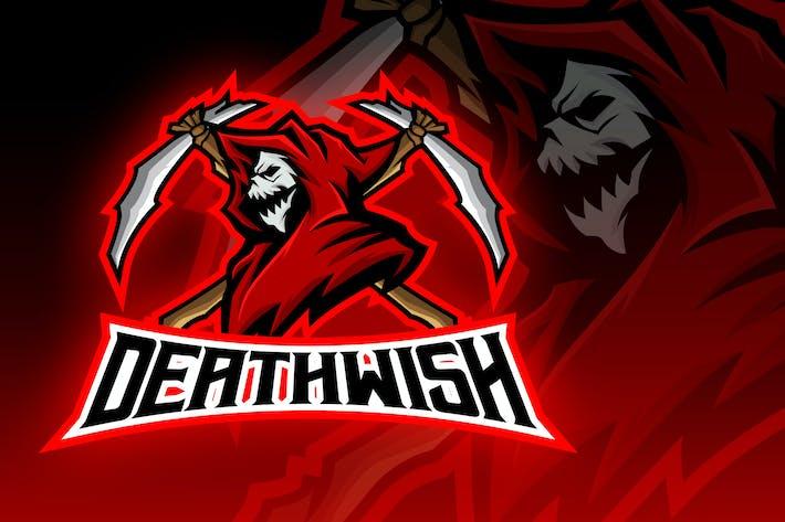 Thumbnail for Grim Reaper Esport Logo