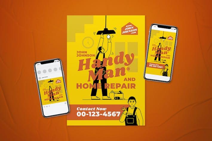Thumbnail for Handyman Flyer Set