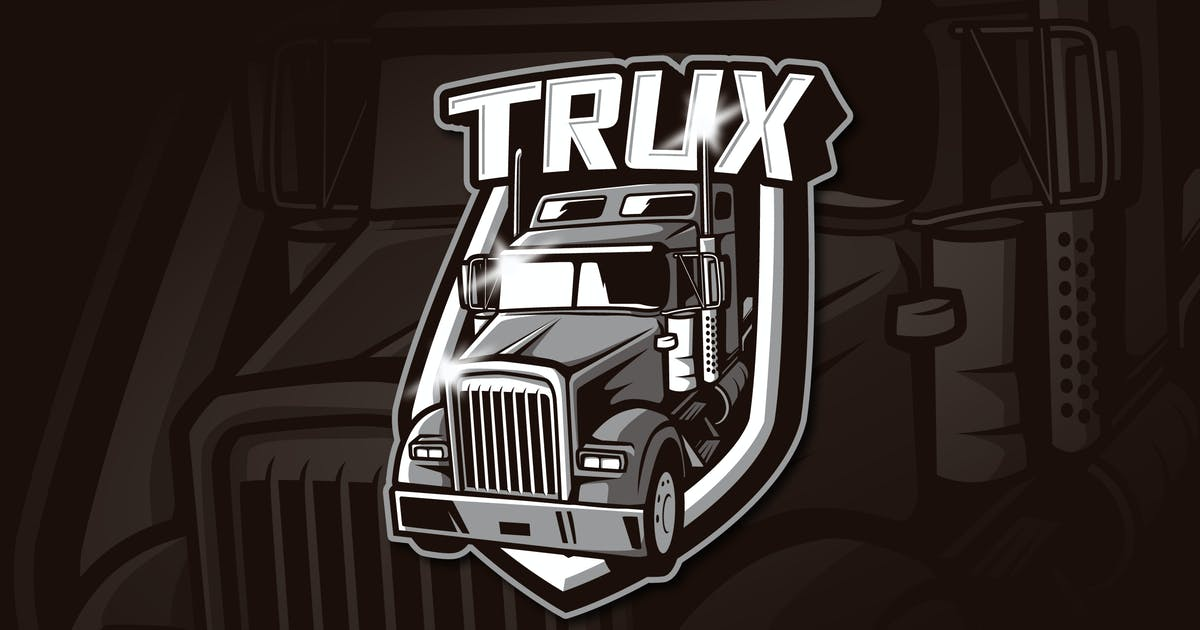 Download TRUX - Mascot & Esports Logo by aqrstudio