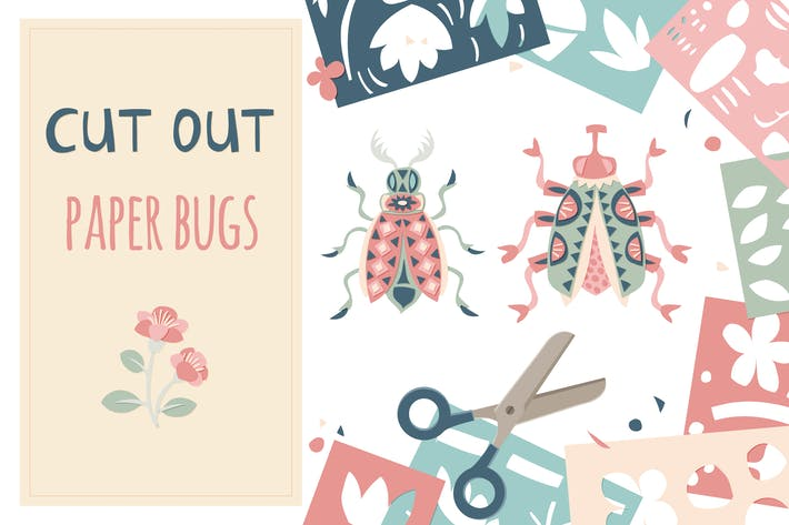 Thumbnail for Cut Out Paper Bugs