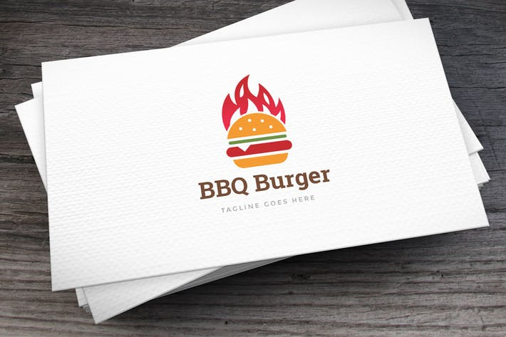 Thumbnail for Bbq Burger Logo Template
