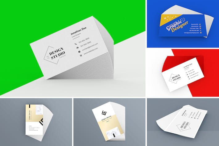 Thumbnail for Business Card Mockup 1.0