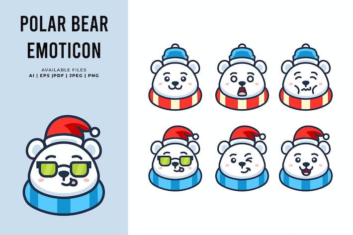 Eisbär Emoticon
