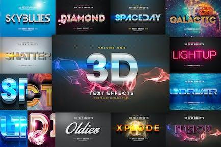 3D -Texteffekte Vol.1