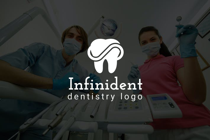 Thumbnail for Infinident : Dental / Dentist Logo