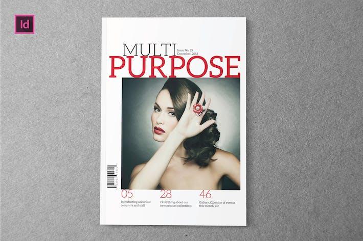 Thumbnail for MULTIPURPOSE - Magazine Template