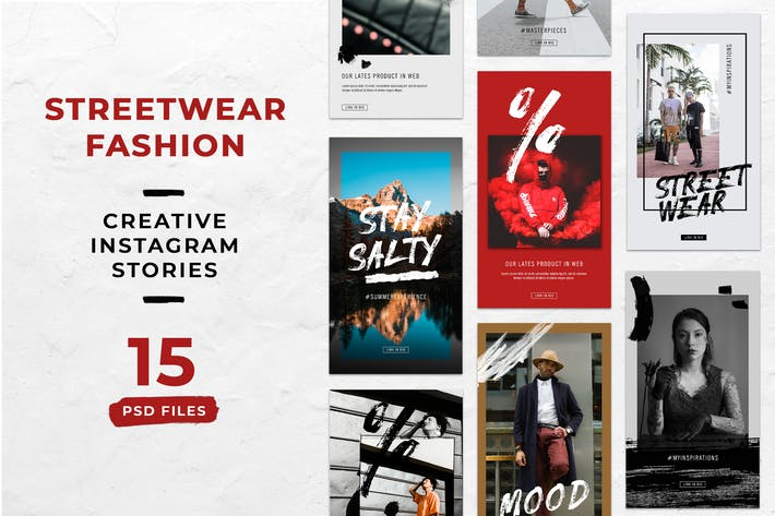 Thumbnail for Уличная одежда Instagram Истории