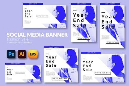 Fashion Sale – Social Media Banner Template