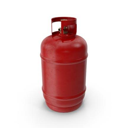 Tanque de Gas Rojo