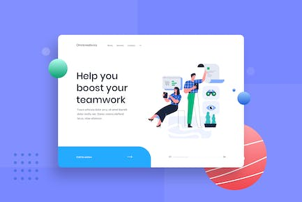 Searching for new e-commerce landing page