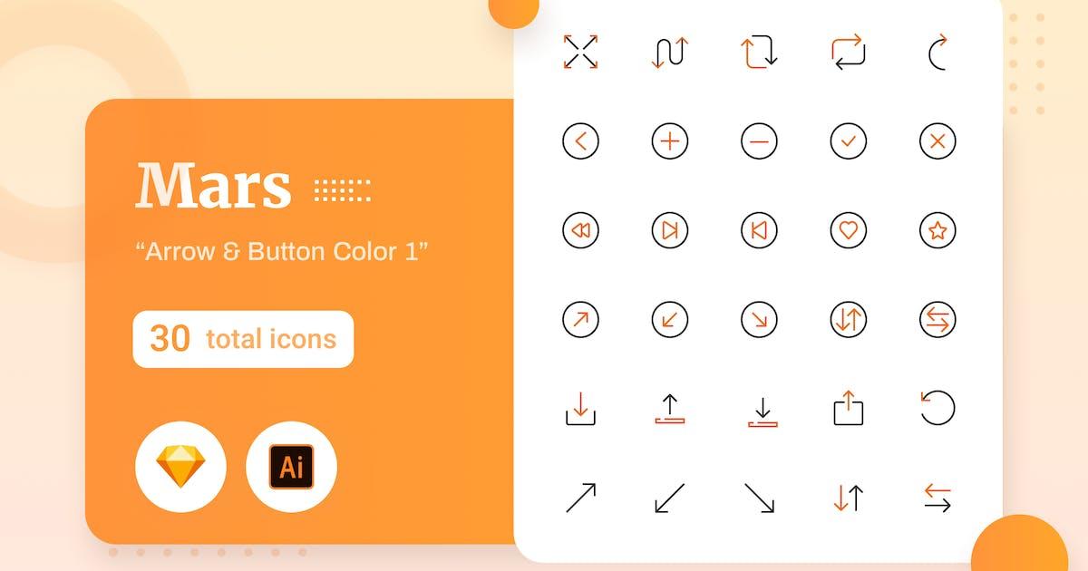 Download Mars - Arrow & Button Color 2 by sudutlancip