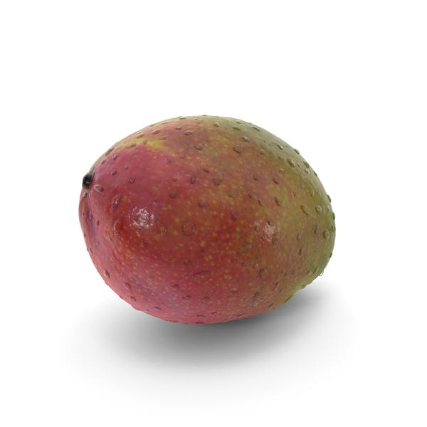 Cover Image for Mango with Water Droplets