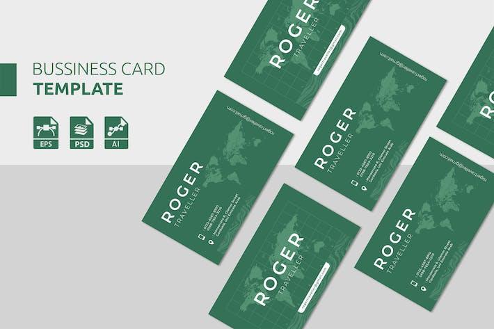 Thumbnail for Traveler Business Card