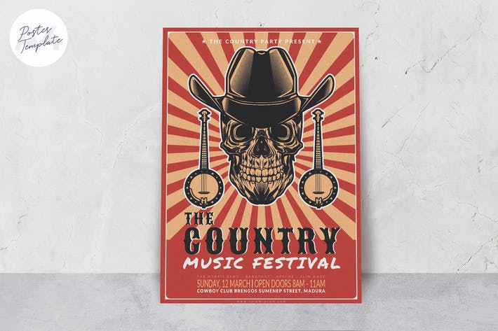 Thumbnail for Music Poster Template